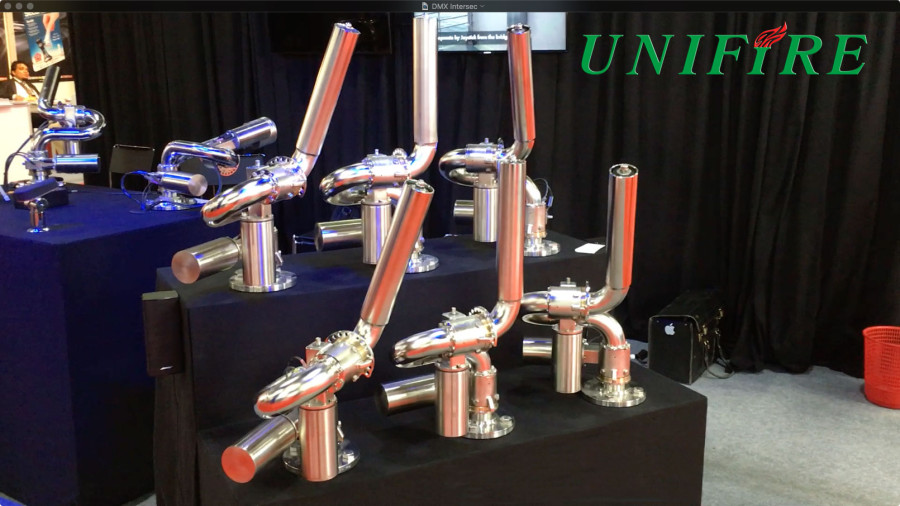 Unifire Exhibits State of the Art Robotic Nozzles at Intersec 2016