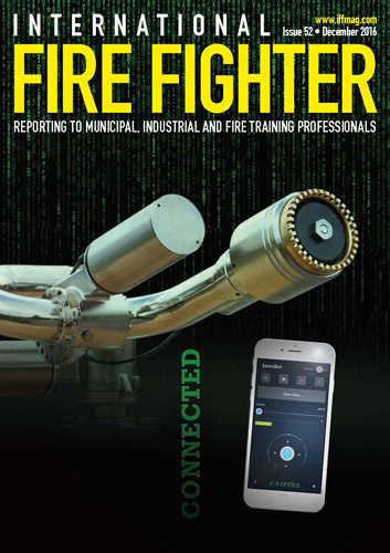 Unifire FlameRanger XT Featured in International Fire Fighter Magazine