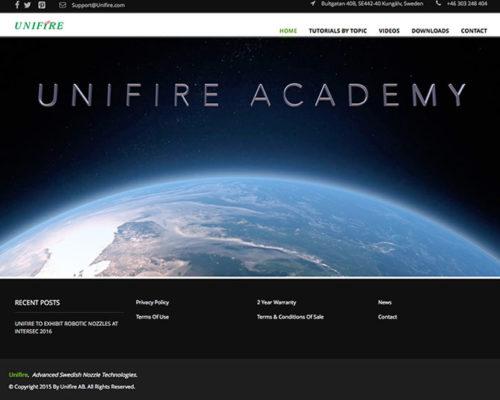 UnifireAcademy-Screenshot