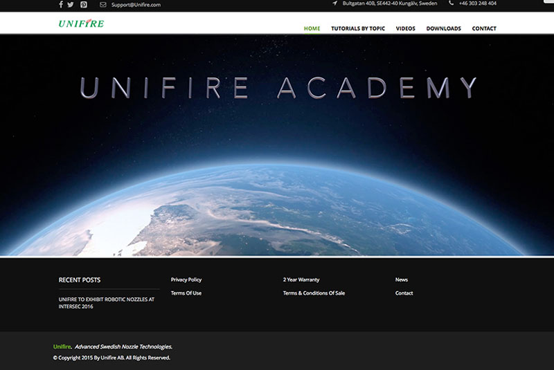 Unifire Launches 'Unifire Academy'